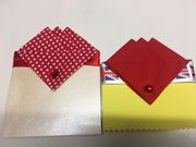 Gift Set of Two Hankies Both Red